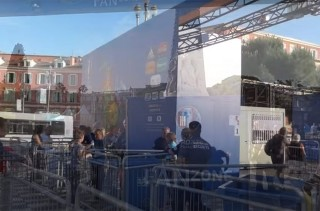 Automatic counting of visitors to the Nice Fan Zone for Euro 2016